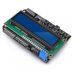 Kuman 1602 LCD Shield Module Display V3 for Arduino UNO R3 MEGA2560 Nano DUE KY54