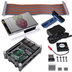 Kuman Raspberry Pi Starter Kit for Raspberry Pi 3 2 Model B B+  #SC04