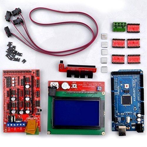 Kuman arduino d printing controller kits for reprap