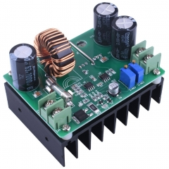 Kuman DC Boost Voltage Converter, 600W/12A 10-60V to 12-80V Step-up  Constant Volt/Amp QY01