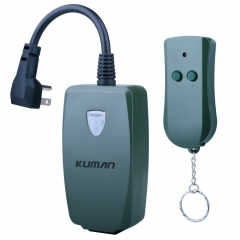 Kuman Outdoor Splash-proof Outlet Switch Wireless Remote Control Receiver Module for Home KJ01
