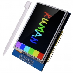 "Kuman UNO R3 2.8 inch TFT Touch Screen with SD Card Socket for Arduino Nano Mega2560 320x240 2.8"" LCD K60"