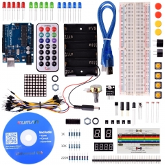 Kuman Basic Starter Kit for Arduino UNO R3 Mega2560 Nano Robot Kits K1