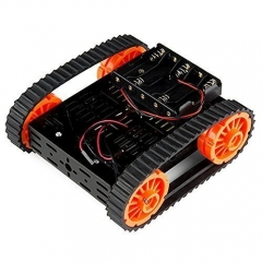 Kuman Smart 4wd wifi Obstacle Avoiding, Line Tracing Motor Robot Senser Tank Chassis for Arduino stater DG012