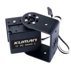 Kuman 17Kg 270 Degree Metal Gear Digital Servo with U Bracket & Side mount for RC Robot Helicopter Airplane Car Boat KY72-1