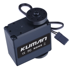 Kuman 17Kg 270 Degree Metal Gear Digital Servo for RC Robot Helicopter Airplane Car Boat KY72