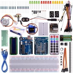 Kuman Starter Kit for arduino with UNO R3 LCD Servo Motor Sensor AVR 32 components K11