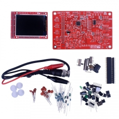 "Kuman DSO138 DIY KIT Open Source 2.4"" TFT 1Msps Digital Oscilloscope Kit with DIY parts + Probe 13803K"