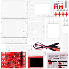 Kuman DSO138 Digital Oscilloscope Kit + Case / Open Source 2.4 inch TFT 1Msps with Probe Assembled Vision 13805K