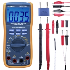 Kuman Digital Multimeter,True RMS 6000 Counts Multimeters Manual and Auto Ranging WH5000A