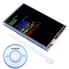 Kuman for Arduino UNO R3 3.5 inch TFT Touch Screen with SD Card Socket w/ Tutorials in CD for Arduino Mega2560 Board SC3A-1