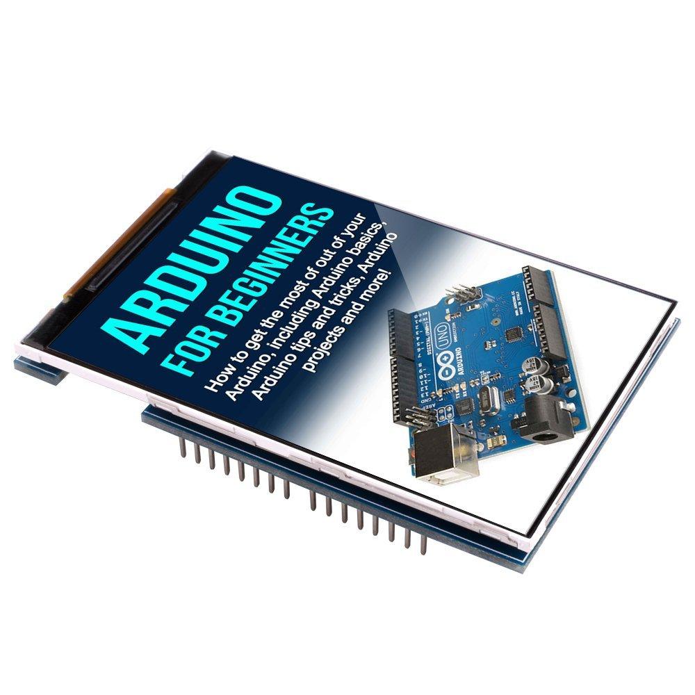 Kuman uno r tft display screen with sd card socket
