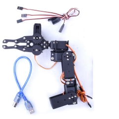 Kuman Manipulator arm with expansion board and 2 cables for Arduino Smart Robot Car