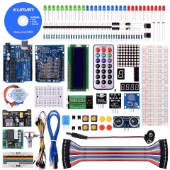 Kuman Project Complete Starter Kit with tutorial for Arduino UNO R3 Mega 2560 robot Nano breadboard K4