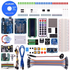 kuman Complete Starter Kit with Detailed Tutorial and Reliable Components for Arduino Project Mega 2560 Robot breadboard Kits