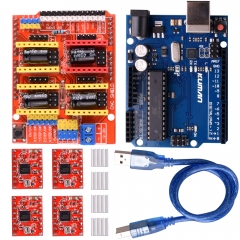 Kuman CNC DIY Kit without Screen for Arduino Kits K75